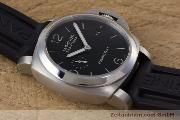 Used luxury watch Panerai Luminor Marina steel automatic Kal. P9000 Ref. PAM00312  | 153675 16