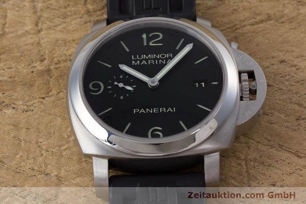 Used luxury watch Panerai Luminor Marina steel automatic Kal. P9000 Ref. PAM00312  | 153675 17