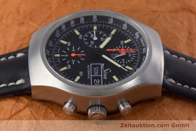 SINN 157 CHRONOGRAPH STEEL AUTOMATIC KAL. 5100 LEMANIA LP: 3370EUR [153677]