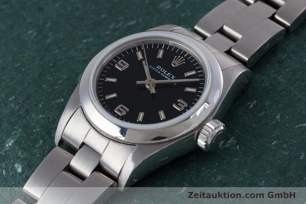 Used luxury watch Rolex Oyster Perpetual steel automatic Kal. 2130 Ref. 67180  | 153683 01