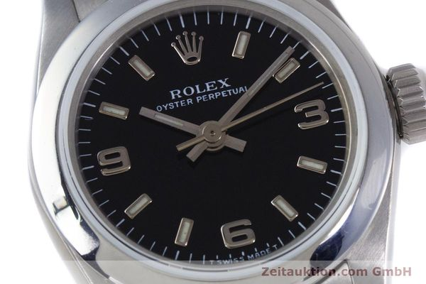 Used luxury watch Rolex Oyster Perpetual steel automatic Kal. 2130 Ref. 67180  | 153683 02