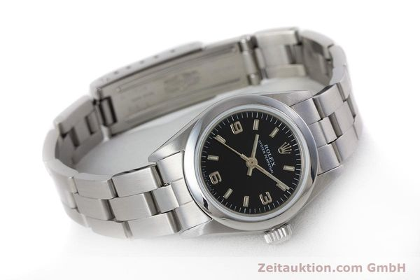 Used luxury watch Rolex Oyster Perpetual steel automatic Kal. 2130 Ref. 67180  | 153683 03