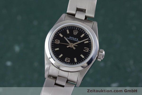 Used luxury watch Rolex Oyster Perpetual steel automatic Kal. 2130 Ref. 67180  | 153683 04
