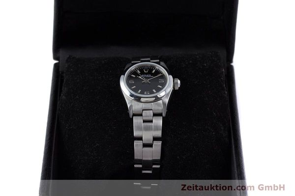 Used luxury watch Rolex Oyster Perpetual steel automatic Kal. 2130 Ref. 67180  | 153683 07
