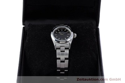 ROLEX LADY OYSTER PERPETUAL NO DATE STAHL AUTOMATIK DAMENUHR 67180 VB: 3900,- Euro [153683]