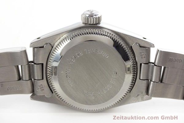 Used luxury watch Rolex Oyster Perpetual steel automatic Kal. 2130 Ref. 67180  | 153683 08