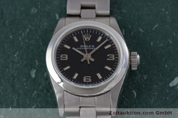 Used luxury watch Rolex Oyster Perpetual steel automatic Kal. 2130 Ref. 67180  | 153683 16
