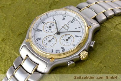 EBEL 1911 CHRONOGRAPH STEEL / GOLD AUTOMATIC KAL. 134 [153689]