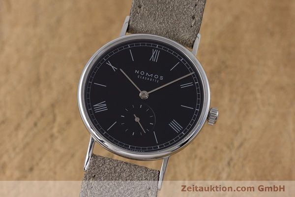 NOMOS LUDWIG STEEL MANUAL WINDING KAL. ALPHA LP: 1440EUR [153696]