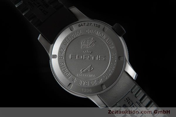 Used luxury watch Fortis B-42 titanium automatic Ref. 647.27.11K  | 153703 02
