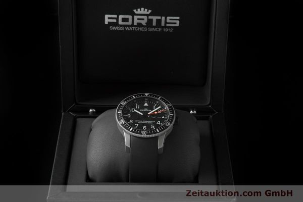 Used luxury watch Fortis B-42 titanium automatic Ref. 647.27.11K  | 153703 07
