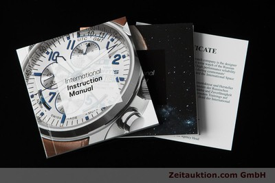 NEU - FORTIS B-42 OFFICIAL COSMONAUTS DAY-DATE 647.27.11K TITAN UVP: 1740,- Euro [153703]