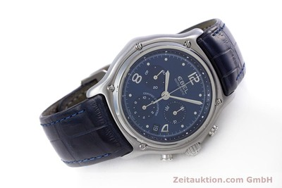EBEL 1911 CHRONOGRAPH STEEL AUTOMATIC KAL. 137 [153704]