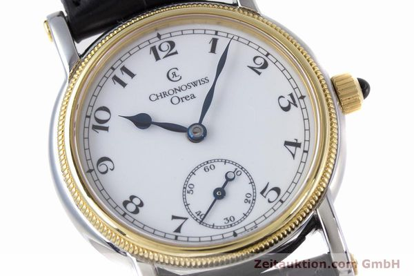 Used luxury watch Chronoswiss Orea steel / gold manual winding Kal. ETA 7001 Ref. CH7162  | 153706 02