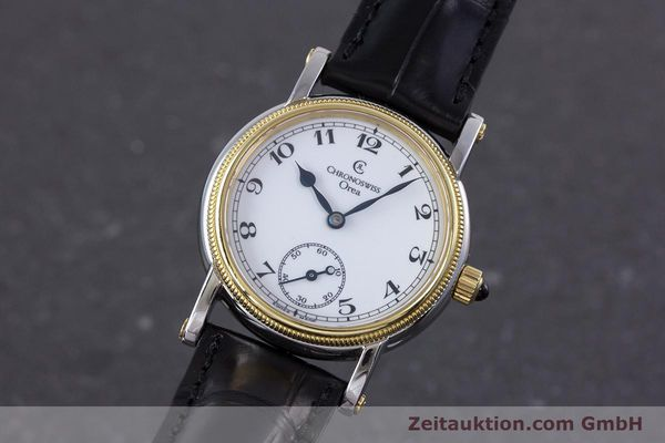 Used luxury watch Chronoswiss Orea steel / gold manual winding Kal. ETA 7001 Ref. CH7162  | 153706 04