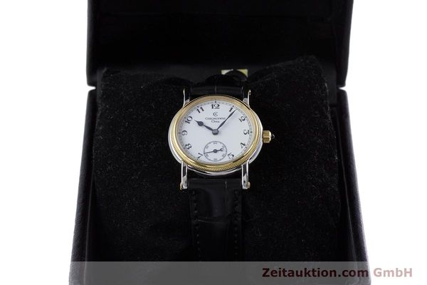 Used luxury watch Chronoswiss Orea steel / gold manual winding Kal. ETA 7001 Ref. CH7162  | 153706 07