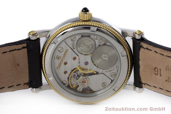 Used luxury watch Chronoswiss Orea steel / gold manual winding Kal. ETA 7001 Ref. CH7162  | 153706 09