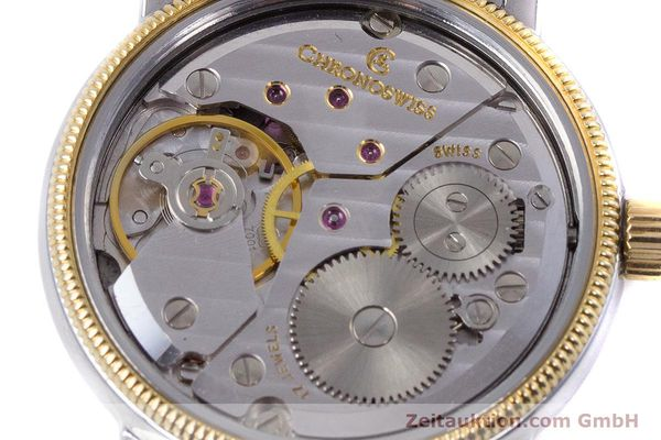 Used luxury watch Chronoswiss Orea steel / gold manual winding Kal. ETA 7001 Ref. CH7162  | 153706 10