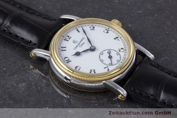 Used luxury watch Chronoswiss Orea steel / gold manual winding Kal. ETA 7001 Ref. CH7162  | 153706 13