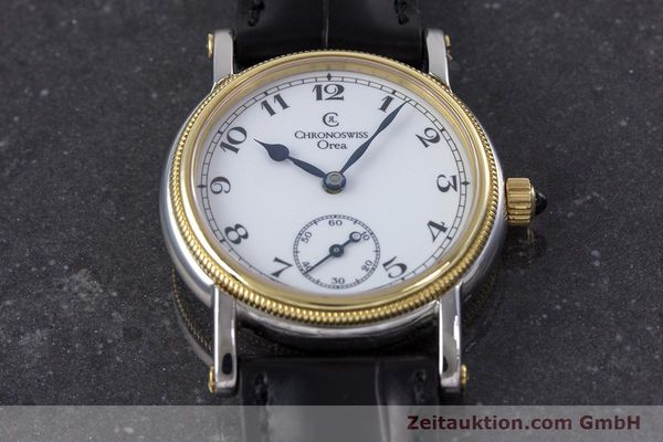 Used luxury watch Chronoswiss Orea steel / gold manual winding Kal. ETA 7001 Ref. CH7162  | 153706 14