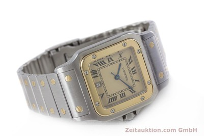 CARTIER SANTOS STEEL / GOLD QUARTZ KAL. 87 LP: 7100EUR [153708]