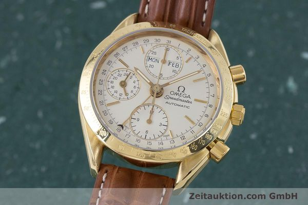 OMEGA SPEEDMASTER CHRONOGRAPHE OR 18 CT AUTOMATIQUE KAL. 1152 LP: 14200EUR [153710]