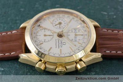 OMEGA SPEEDMASTER CHRONOGRAPH 18 CT GOLD AUTOMATIC KAL. 1152 LP: 14200EUR [153710]