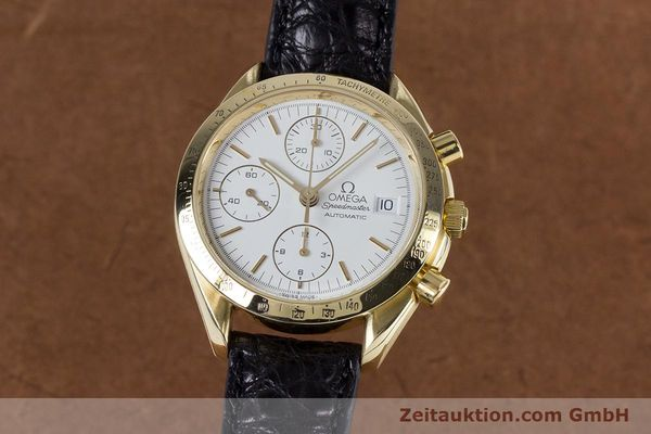 OMEGA SPEEDMASTER CHRONOGRAPHE OR 18 CT AUTOMATIQUE KAL. 1150 VALJ. 7751 LP: 14200EUR [153711]