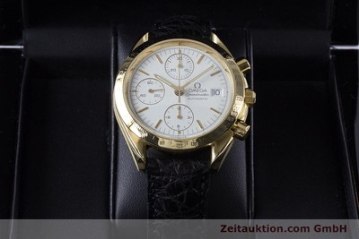 OMEGA SPEEDMASTER CHRONOGRAPH 18 CT GOLD AUTOMATIC KAL. 1150 VALJ. 7751 LP: 14200EUR [153711]