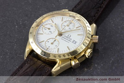 OMEGA SPEEDMASTER CHRONOGRAPH 18 CT GOLD AUTOMATIC KAL. 1152 LP: 14200EUR [153712]