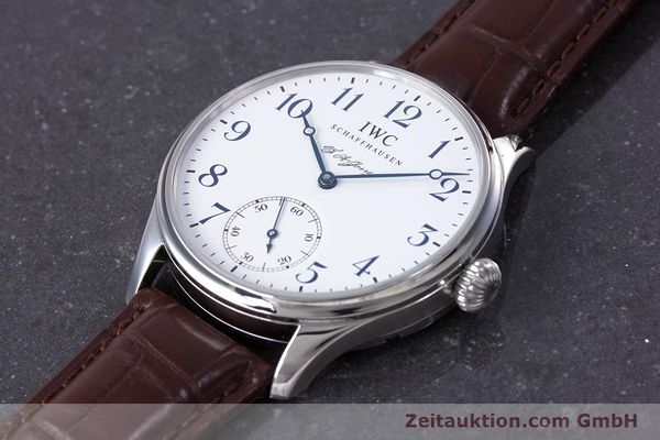 Used luxury watch IWC Portugieser steel manual winding Kal. 98290 Ref. 5442 LIMITED EDITION | 153713 01