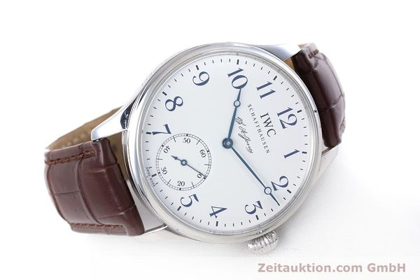 Used luxury watch IWC Portugieser steel manual winding Kal. 98290 Ref. 5442 LIMITED EDITION | 153713 03