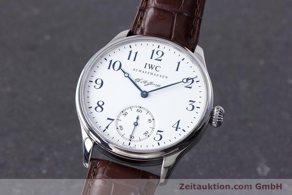 IWC PORTUGIESER STEEL MANUAL WINDING KAL. 98290 [153713]