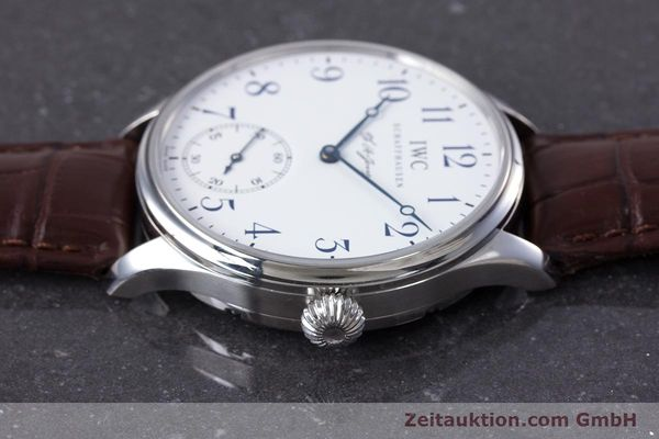 Used luxury watch IWC Portugieser steel manual winding Kal. 98290 Ref. 5442 LIMITED EDITION | 153713 05