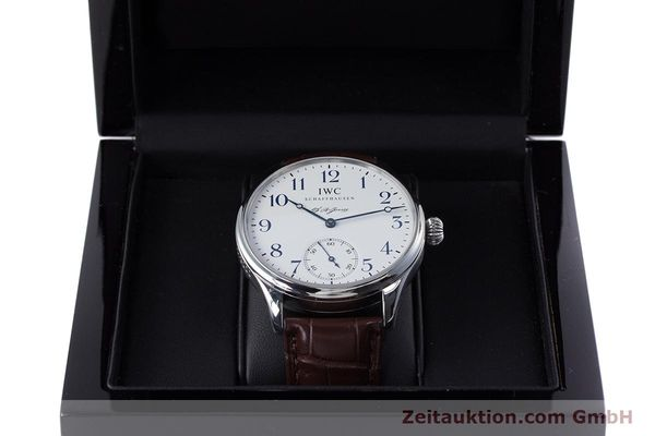 Used luxury watch IWC Portugieser steel manual winding Kal. 98290 Ref. 5442 LIMITED EDITION | 153713 07