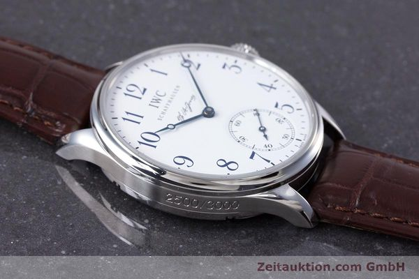 Used luxury watch IWC Portugieser steel manual winding Kal. 98290 Ref. 5442 LIMITED EDITION | 153713 15