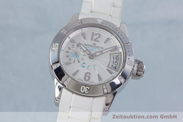 Used luxury watch Jaeger Le Coultre Master Compressor steel automatic Kal. 971D Ref. 156.8.61  | 153716 04