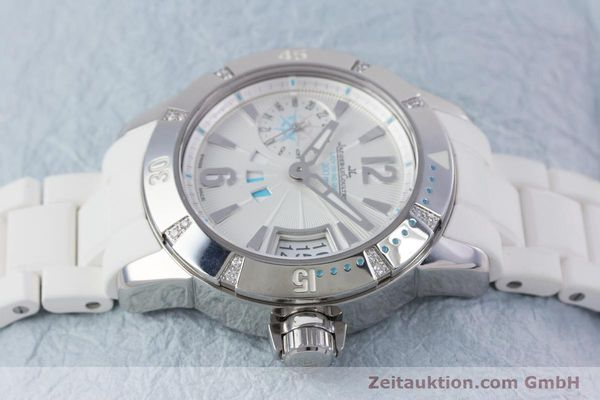 Used luxury watch Jaeger Le Coultre Master Compressor steel automatic Kal. 971D Ref. 156.8.61  | 153716 05