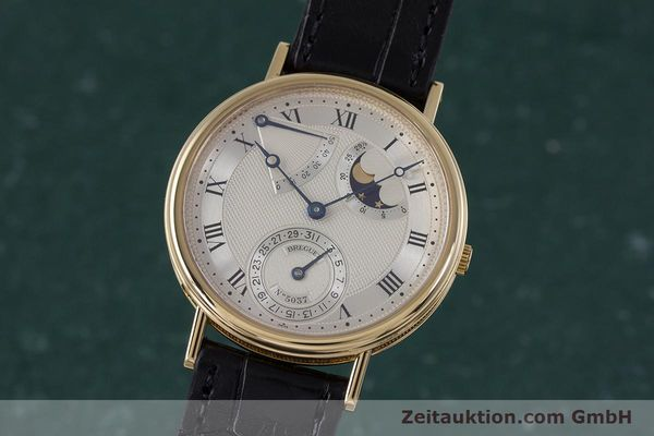 Used luxury watch Breguet Classique 18 ct gold automatic Ref. 3130  | 153720 04