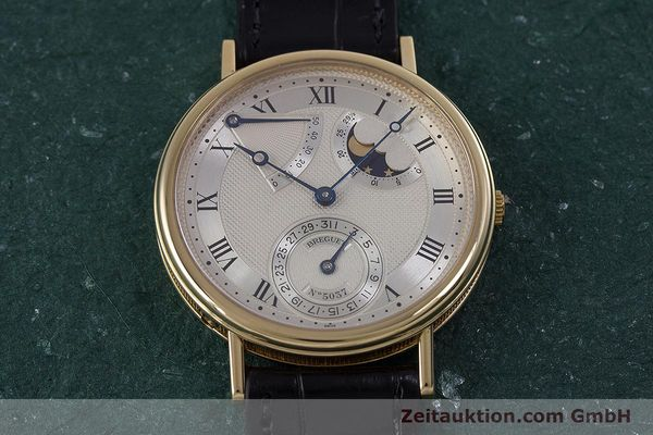 Used luxury watch Breguet Classique 18 ct gold automatic Ref. 3130  | 153720 15