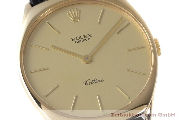 Used luxury watch Rolex Cellini 18 ct gold manual winding Kal. 1601 Ref. 4133  | 160011 02