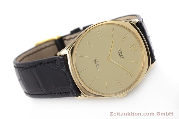 Used luxury watch Rolex Cellini 18 ct gold manual winding Kal. 1601 Ref. 4133  | 160011 03