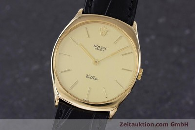 ROLEX CELLINI OR 18 CT À REMONTAGE MANUEL KAL. 1601 LP: 5000EUR [160011]