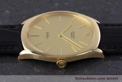 ROLEX CELLINI 18 CT GOLD MANUAL WINDING KAL. 1601 LP: 5000EUR [160011]