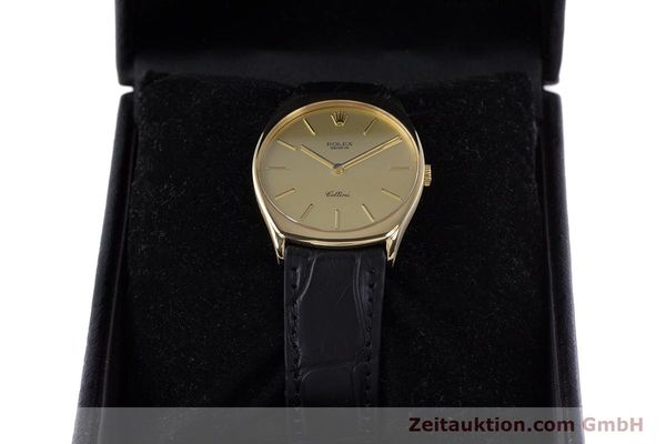 Used luxury watch Rolex Cellini 18 ct gold manual winding Kal. 1601 Ref. 4133  | 160011 07