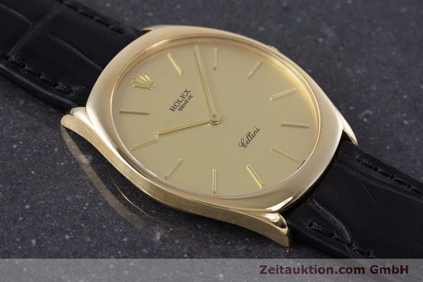 Used luxury watch Rolex Cellini 18 ct gold manual winding Kal. 1601 Ref. 4133  | 160011 14