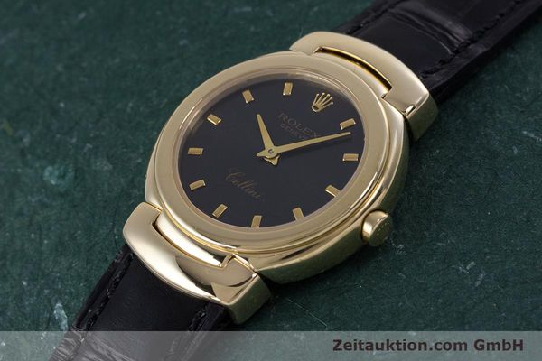 Used luxury watch Rolex Cellini 18 ct gold quartz Kal. 6620 Ref. 6621  | 160012 01