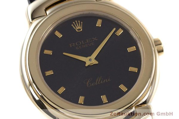 Used luxury watch Rolex Cellini 18 ct gold quartz Kal. 6620 Ref. 6621  | 160012 02