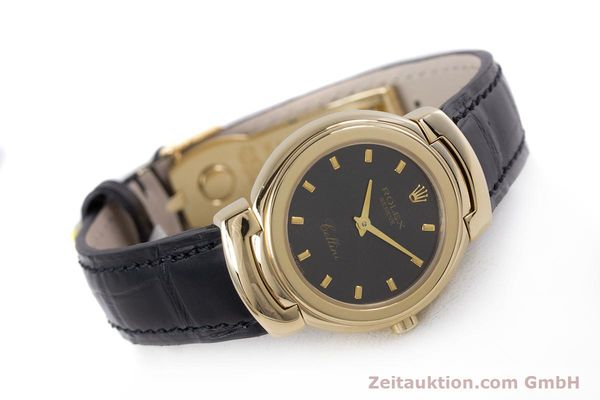 Used luxury watch Rolex Cellini 18 ct gold quartz Kal. 6620 Ref. 6621  | 160012 03