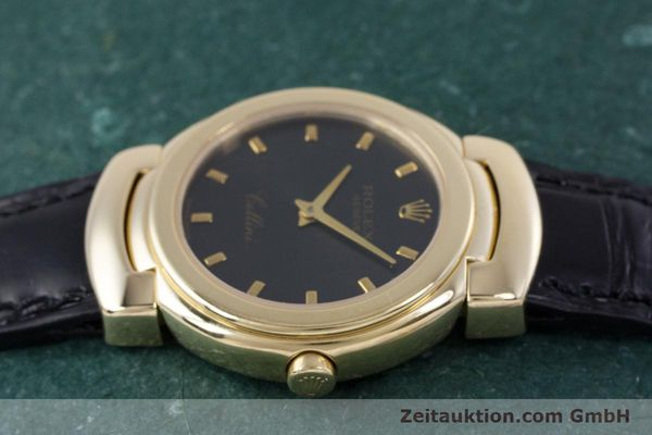 Used luxury watch Rolex Cellini 18 ct gold quartz Kal. 6620 Ref. 6621  | 160012 05